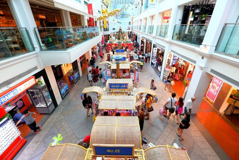 Singapore: Winkelcomplex stock foto