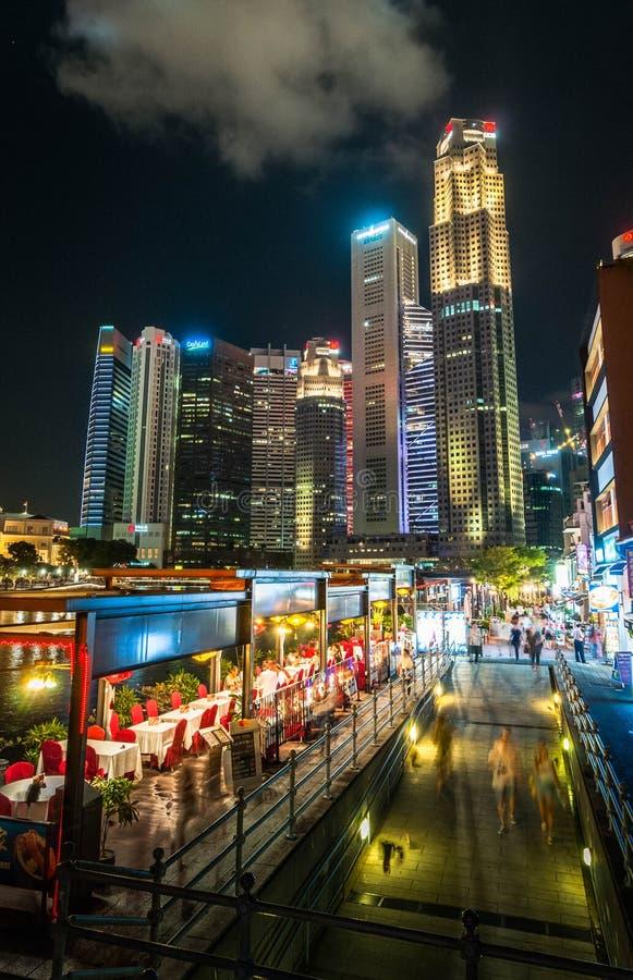 2019-07-27 Singapour - Singapour du centre devient plus vibrant image stock