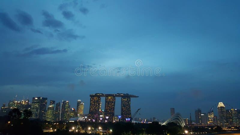 Singapur światło zdjęcie stock