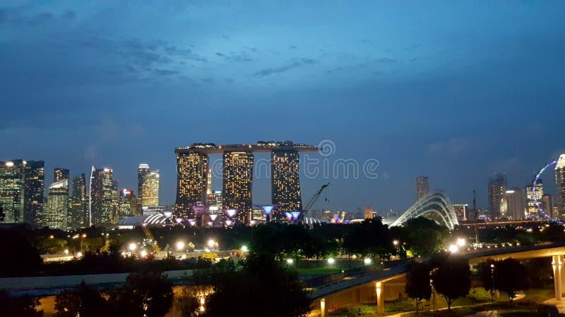 Singapur światło zdjęcie royalty free