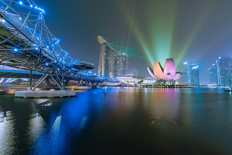 singapur stockbilder