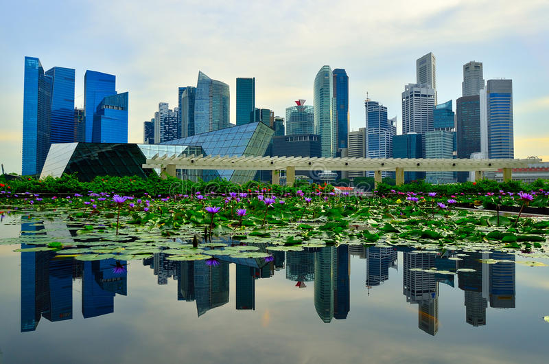 Singapur obrazy stock
