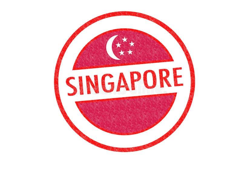 singapur stock abbildung