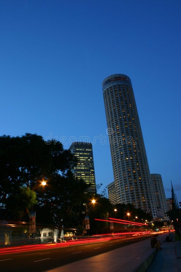 Singapur-Ansicht stockfoto