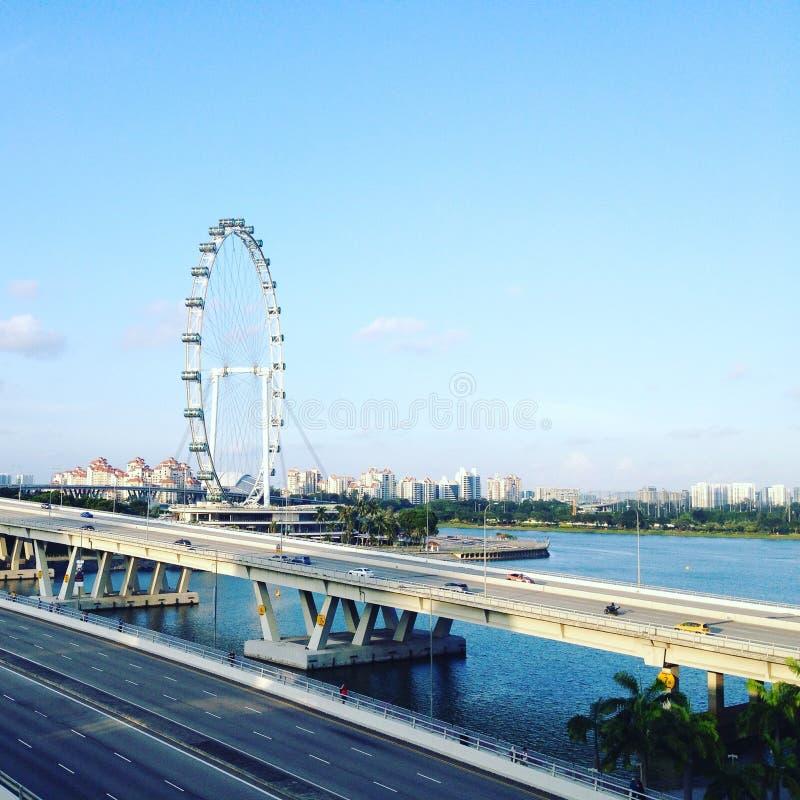 Singapur-Ansicht stockbild