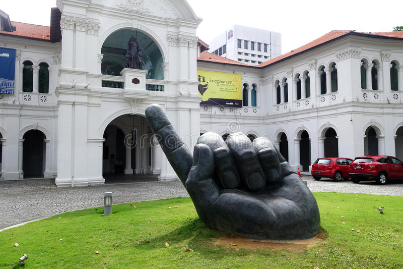 Singapur Art Museum stockfotos
