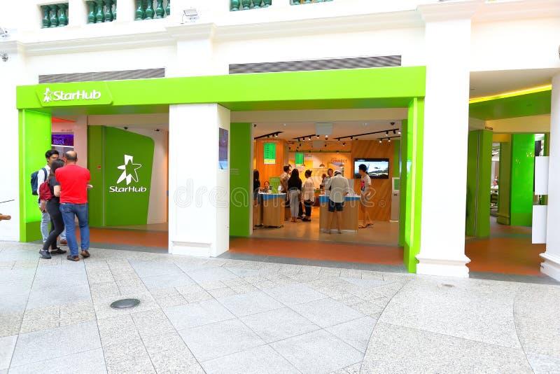 Singapur: Beweglicher Shop lizenzfreies stockbild