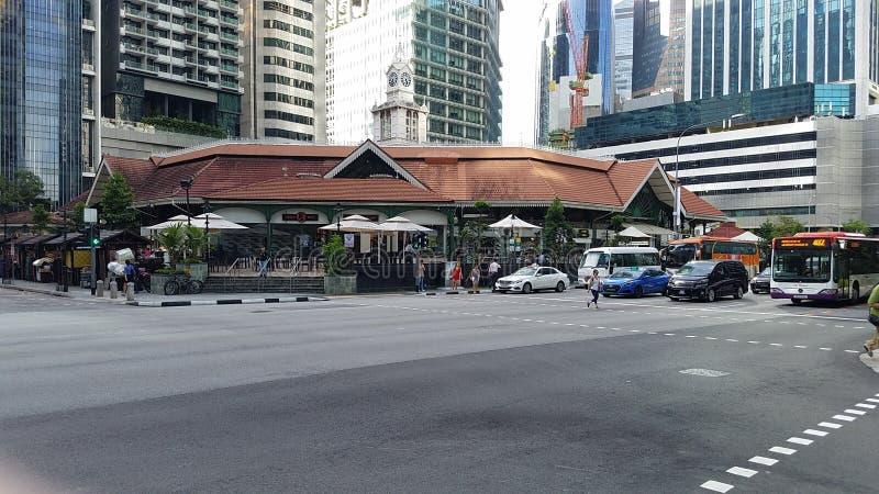 Singapur céntrico fotografía de archivo libre de regalías