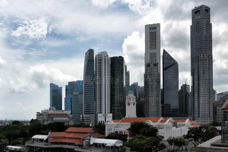 Singapur céntrico imagen de archivo libre de regalías