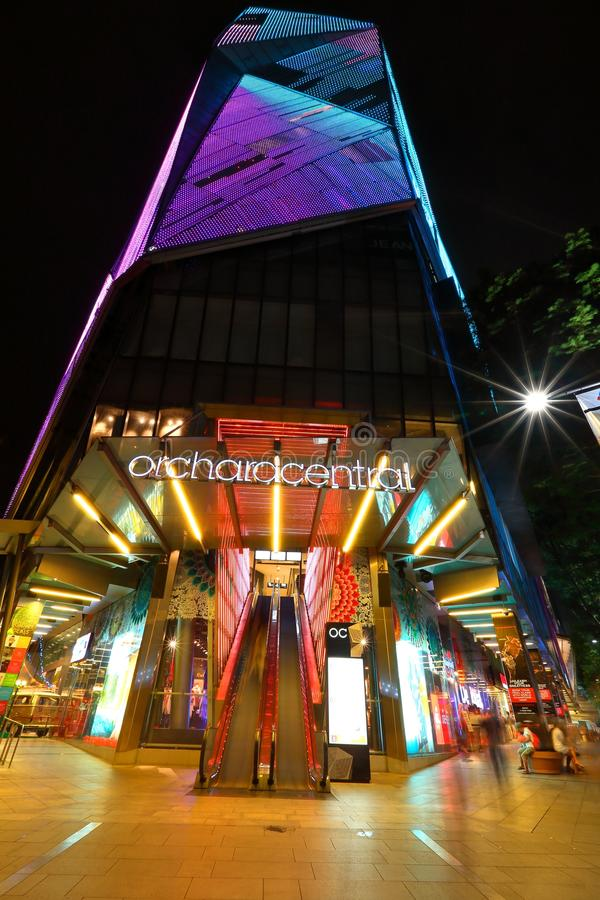 Singapur: Central de la huerta imagenes de archivo