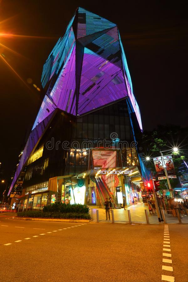 Singapur: Central de la huerta fotos de archivo libres de regalías