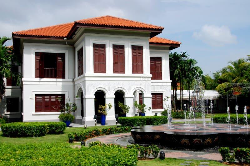 Singapur: Centro de la herencia del Malay imagenes de archivo