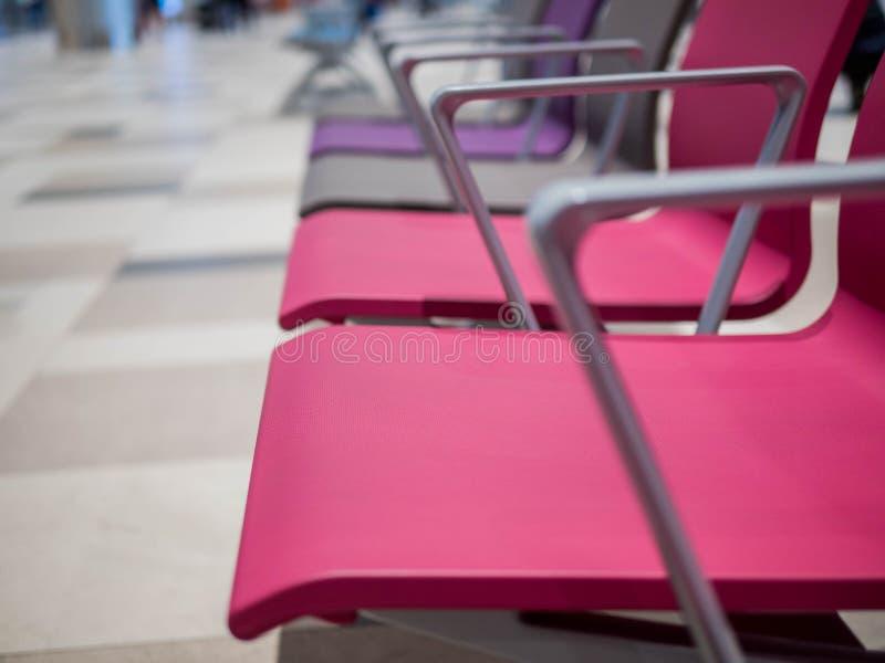 Singapur, Changi lotnisko - NOV 22, 2018: czekanie sala w Changi lotnisku zdjęcia stock
