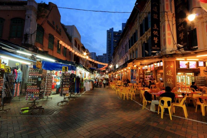 Singapur Chinatown foto de archivo
