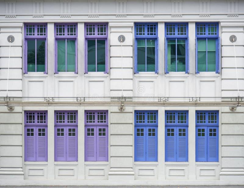 SINGAPUR - 4 DE ENERO: MICA que construye el 4 de enero de 2015 en Singapur Era conocido como la vieja comisaría de policías de H fotos de archivo