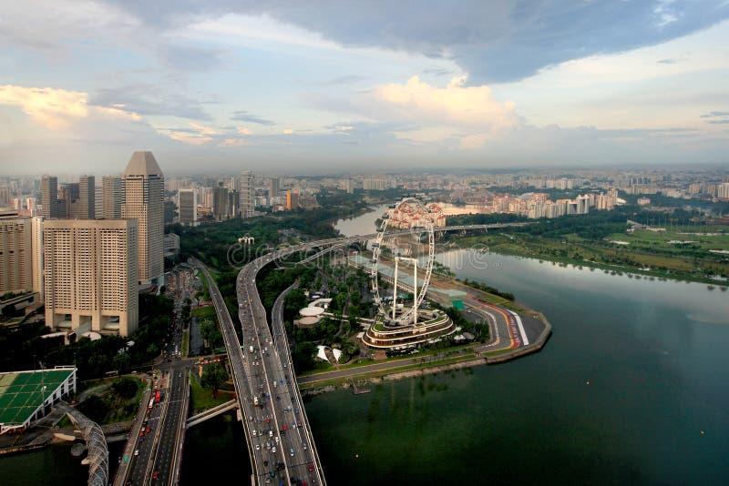SINGAPUR-FLUGBLATT lizenzfreie stockfotografie