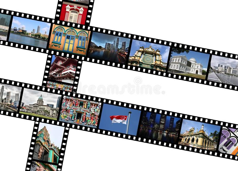 Singapur-Fotos stockbilder