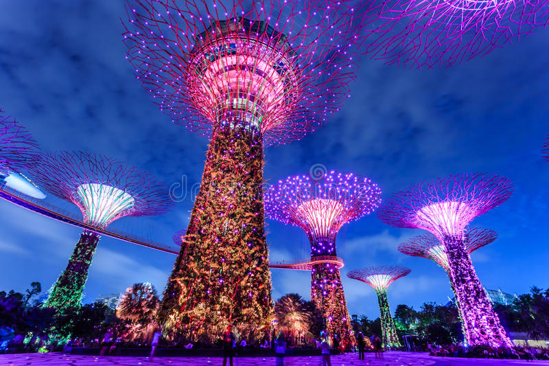 Singapur-Garten lizenzfreie stockfotografie