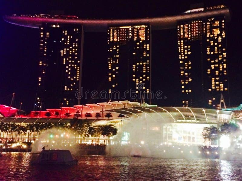 Singapur-Gebäudeshow lizenzfreie stockbilder