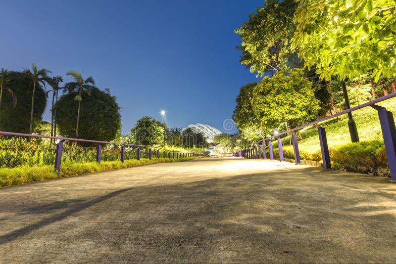 Singapur, 29, im September 2018: Ansicht des Esplanade-Theaters Durian-Theater stockbild