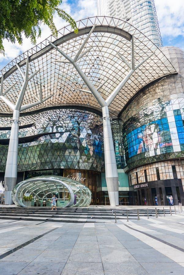 SINGAPUR - 18. JUNI: Tagesansicht von ION Orchard-Einkaufszentrum onJU lizenzfreie stockfotografie