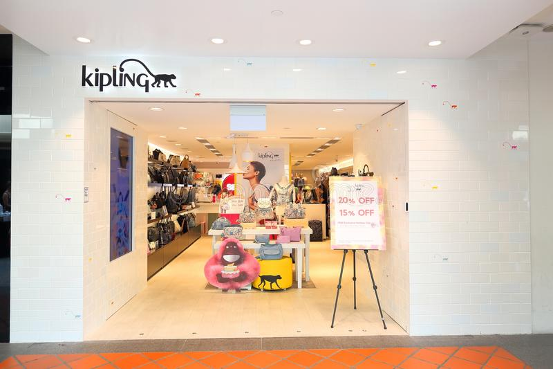 Singapur Kipling fotografía de archivo libre de regalías