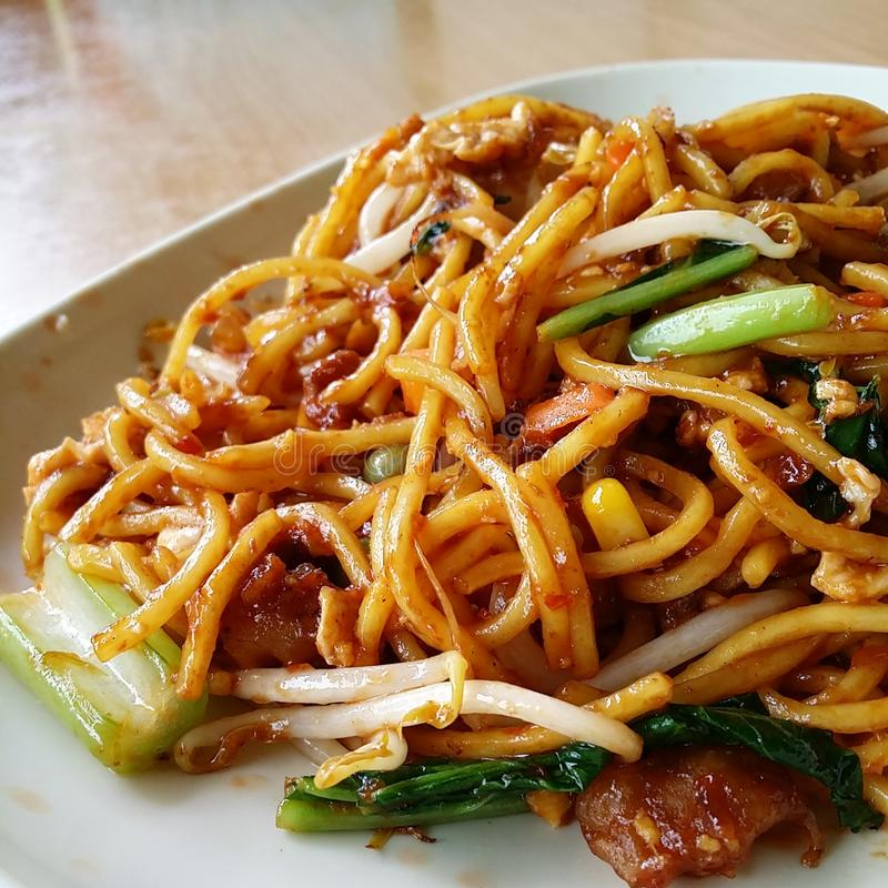 Singapur-Lebensmittel lizenzfreies stockbild