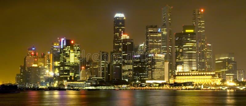 Singapur linia horyzontu zdjęcie royalty free