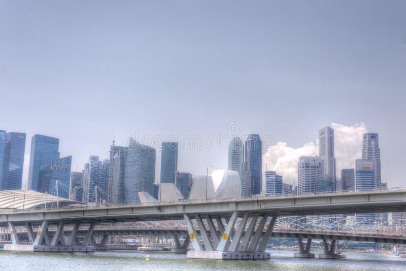 Download Singapur Linia Horyzontu CBD Zdjęcie Stock Editorial - Obraz: 27331798