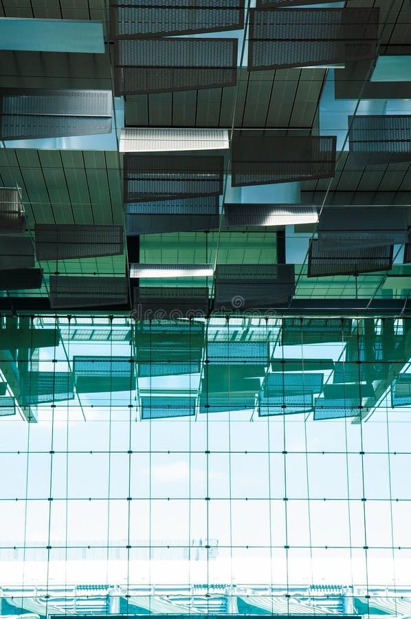Singapur lotnisko, Wyjściowy Hall zdjęcia royalty free