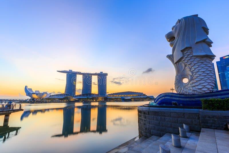 Singapur, Marina zatoka zdjęcie royalty free