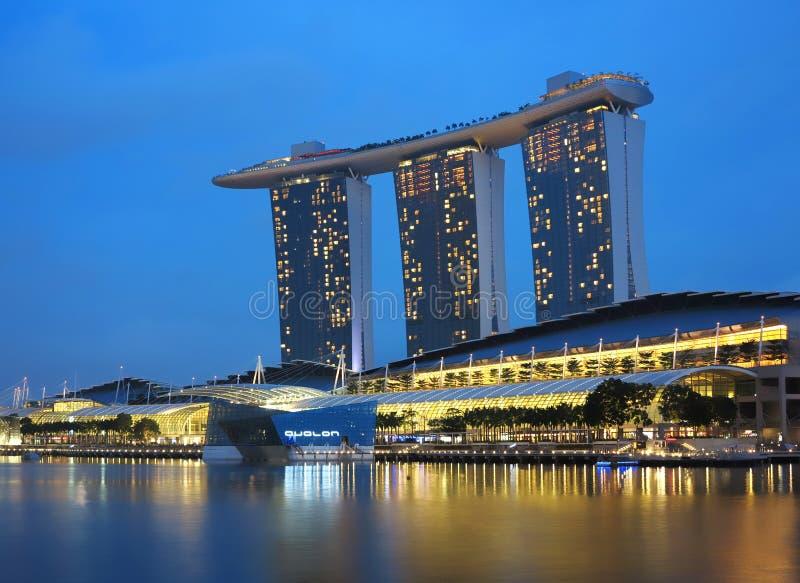 Singapur Marina Zatoki Piaski Hotelowi fotografia royalty free