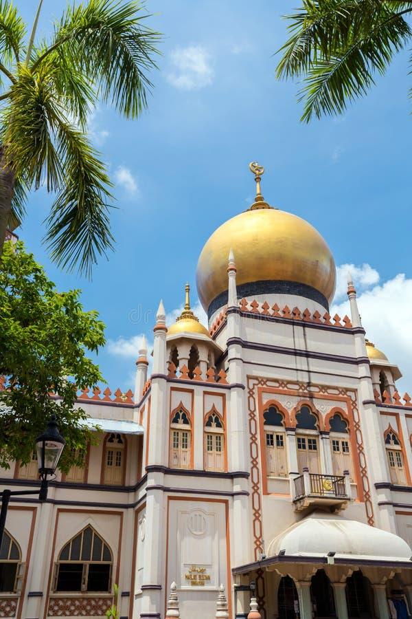Singapur masjid sułtan zdjęcie royalty free