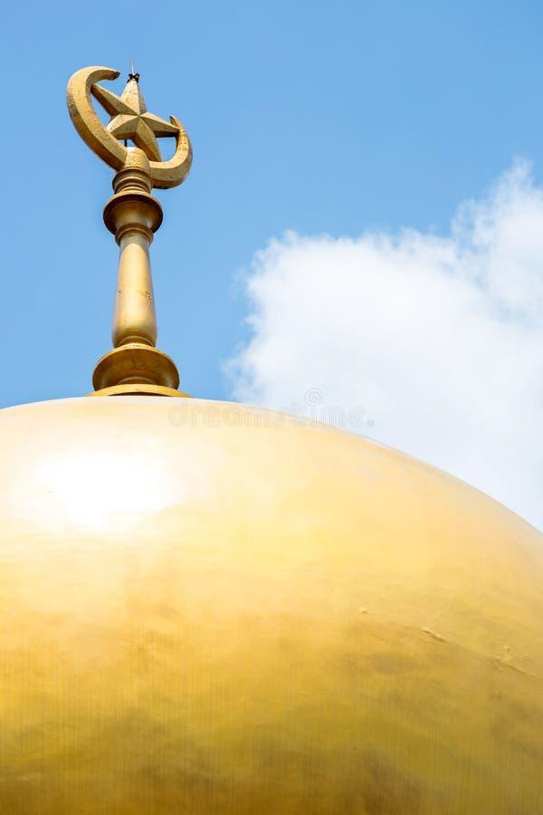 Singapur meczet obraz royalty free