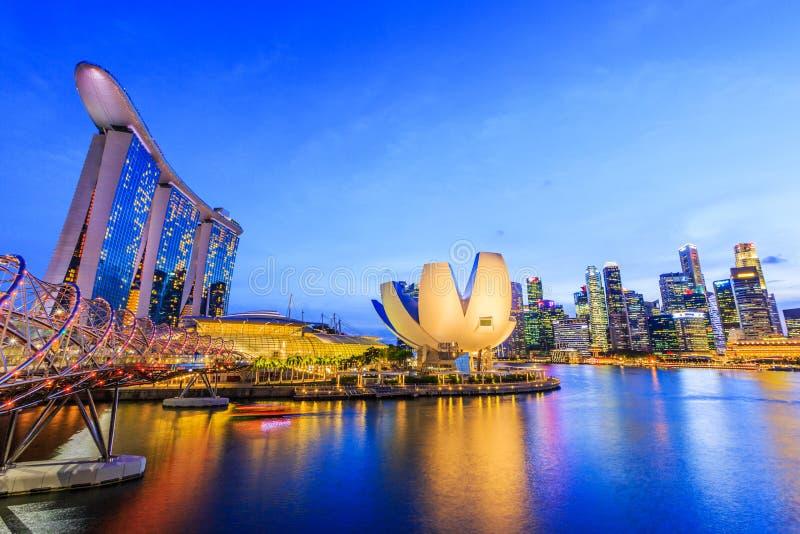 Singapur miasto, Singapur zdjęcia stock