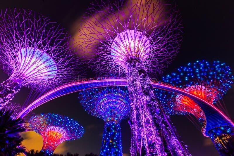 Singapur miasto, Singapur zdjęcia royalty free