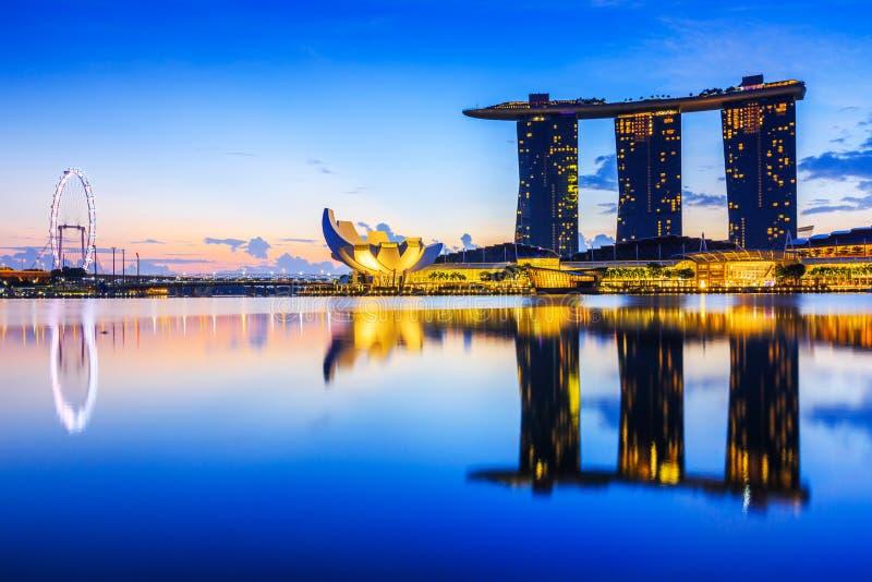 Singapur miasto, Singapur obrazy stock