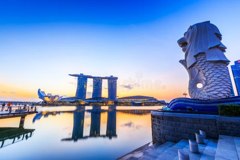 Singapur miasto, Singapur zdjęcie royalty free