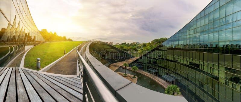 SINGAPUR - 24. OKTOBER 2016: Modernes Architekturgebäude von N stockbilder