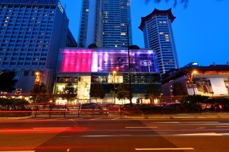 Singapur: Scotts kwadrat obraz stock