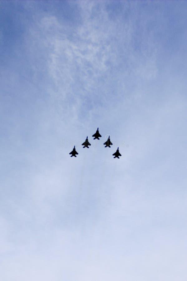 Singapur siły powietrzne myśliwowie fotografia royalty free