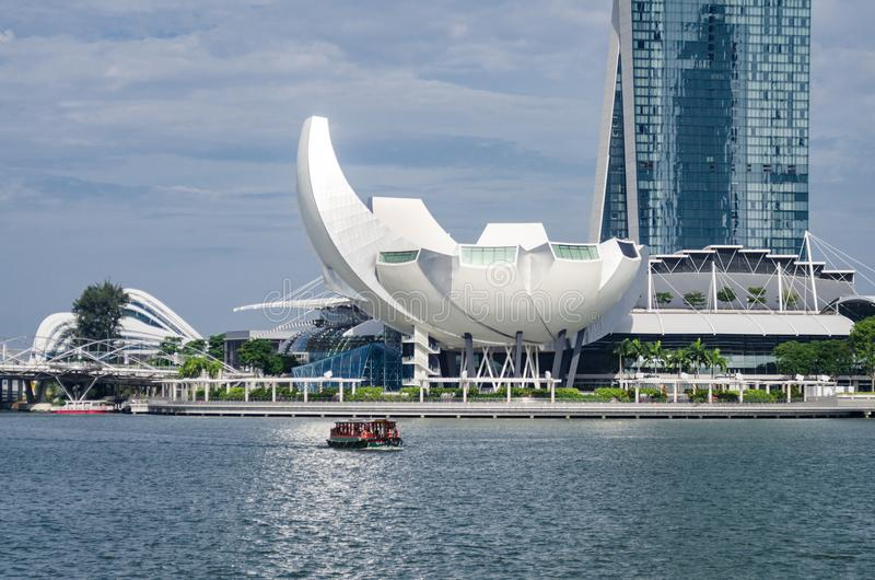 Singapur sztuki nauki muzeum obrazy stock