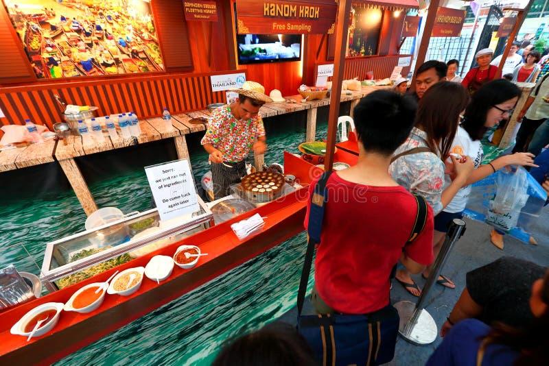 Singapur: Tajlandzki festiwal fotografia royalty free