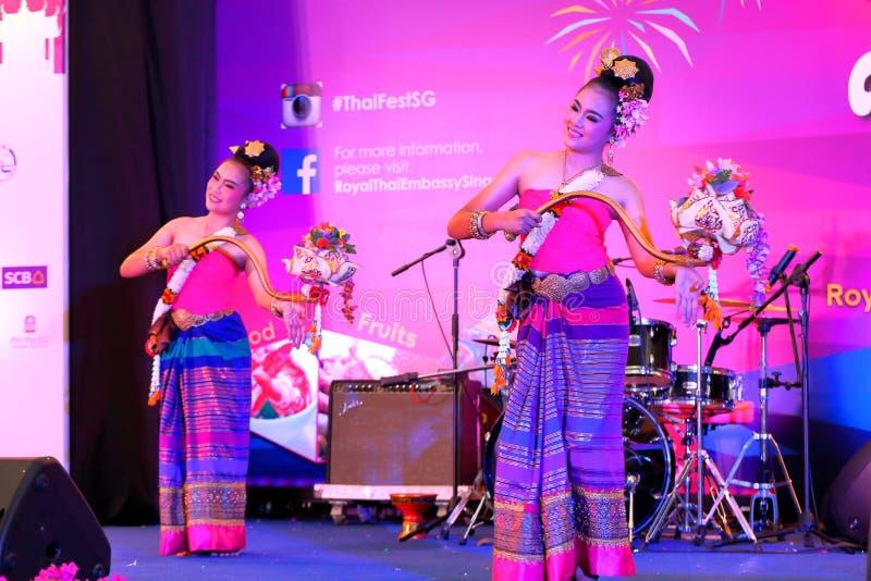 Singapur: Tajlandzki festiwal obraz royalty free