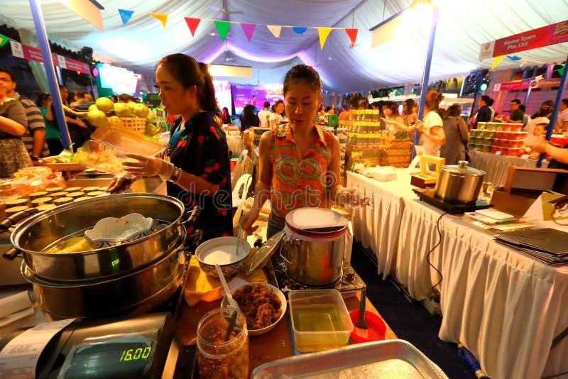 Singapur: Tajlandzki festiwal obrazy stock