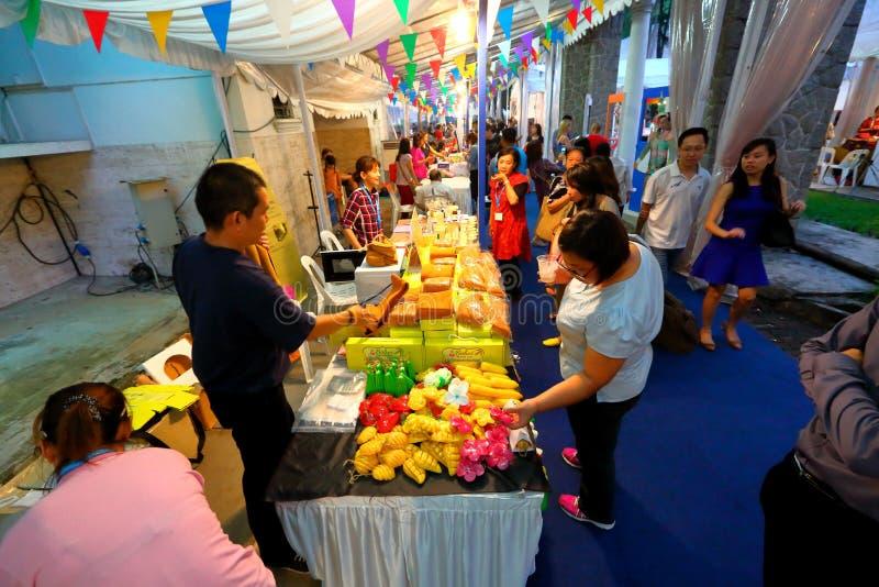 Singapur: Tajlandzki festiwal zdjęcia royalty free