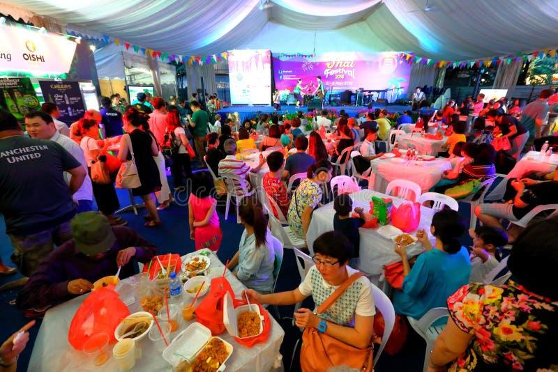 Singapur: Tajlandzki festiwal obrazy royalty free