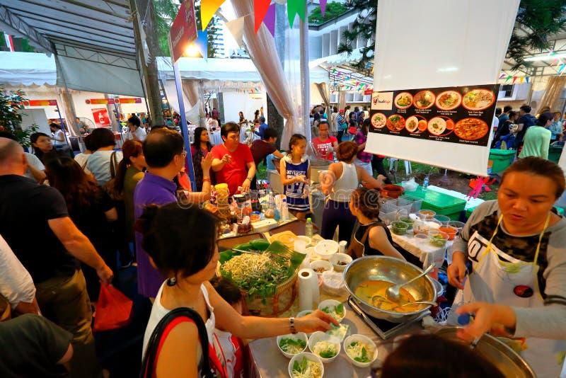 Singapur: Tajlandzki festiwal zdjęcie royalty free