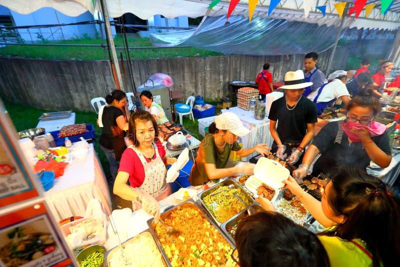 Singapur: Tajlandzki festiwal zdjęcie stock