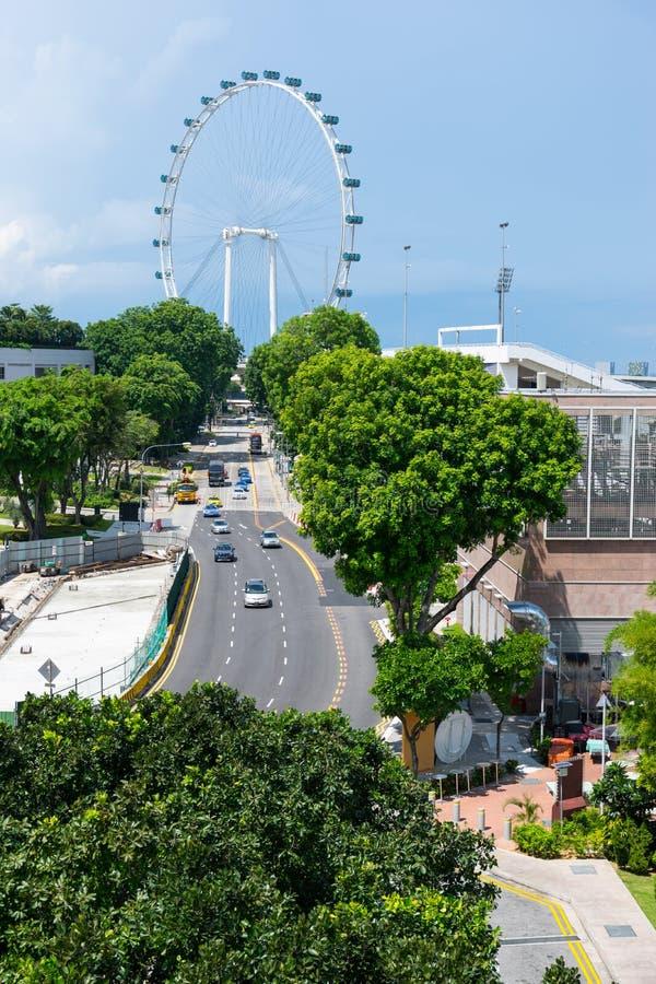 Download Singapur Ulotki Ferris Koło Obraz Stock - Obraz złożonej z śródmieście, koło: 57668881